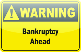Warning signs bankruptcy