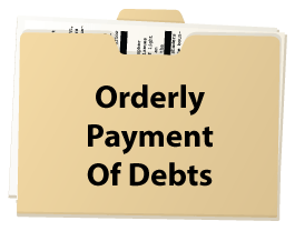 orderly payment of debts OPD