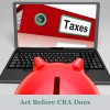 tax debt tax returns Canada Revenue Agency