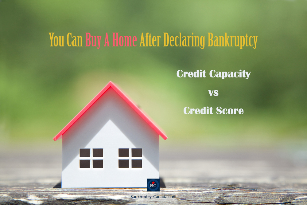 declaring bankruptcy house